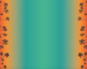 Tropical Sunset Swim Fabric (UPF50, 250 gsm, 80/20 Polyester/Lycra) *UK*