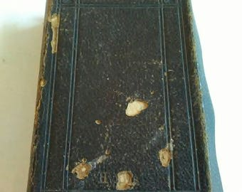 Gilt Edged Victorian Little Common Book Of Prayer