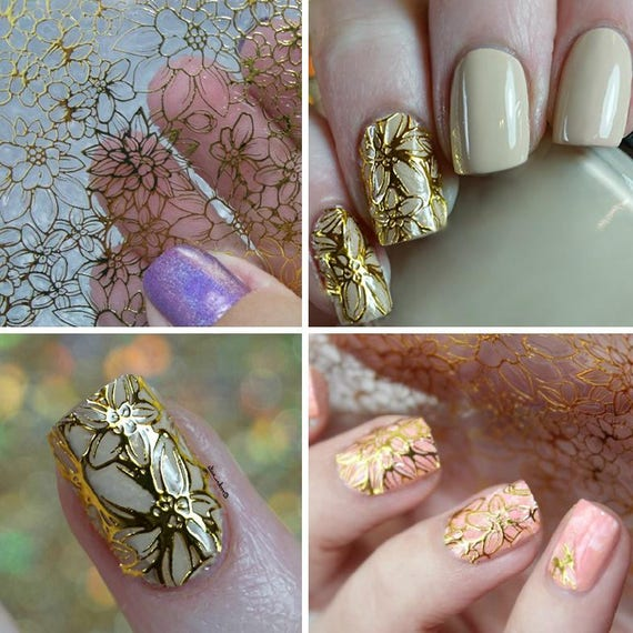 1 sheet embossed 3d nail stickers decoration nail blooming flower 1 sheet embossed 3d nail stickers decoration nail blooming flower 3d nail art stickers decals etsy from nailoflady on etsy studio prinsesfo Gallery