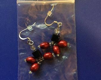 Handmade Glass beaded earings