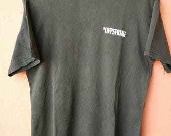 Vintage The Offspring Bootleg T Shirt Rare