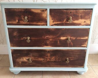 Fabulous pine chest of drawers