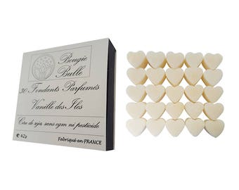 30 fondant flavored vanilla burning wax from soy natural perfume