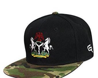 Go Rep Nigeria Snapback Hat Cap
