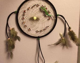 Lizzard Dreamcatcher