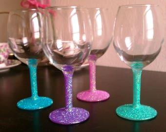 Custom Glitter Cups