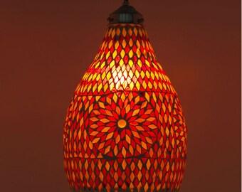 Oriental Bohemian Mosaic Lamp
