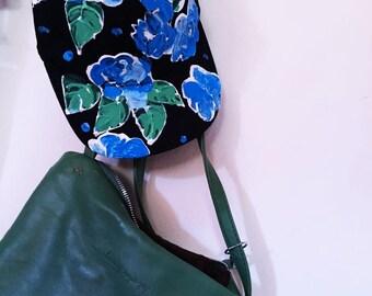 Floral Print Handpainted Hat