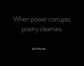 Poetry Cleanses Print