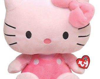 "Hello Kitty 16"" Sanrio Ty Beanie Baby stuffed animal"