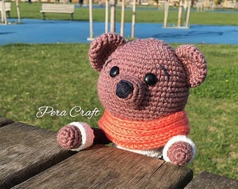 Teddy Bear (crochet, amigurumi)