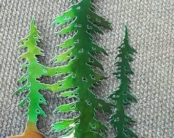 Three Tree Art Small