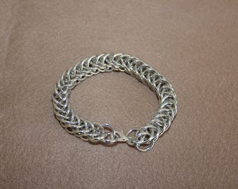 Chain Maille Half Persian Bracelet