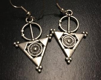 Triangle Berber Earrings