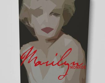 Marilyn Monroe Artwork Canvas
