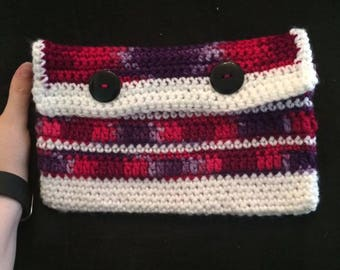 Lined Button Pouch Made to Order