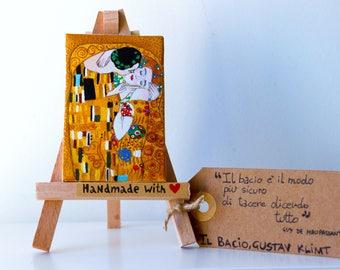 Il bacio (the kiss), Gustav Klimt