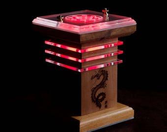 Laser Imaged Monochromatic Lantern