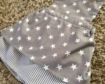 Stars and Stripes Backless Summer Pinafore