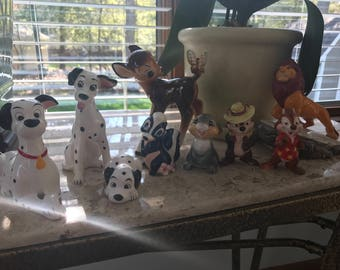 Walt Disney Collectable Figurines