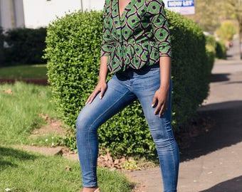 Ruby Africa Print jacket