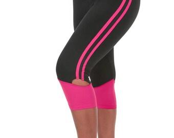 Verscos Women's Stretch Capris Cropped Tight Leggings 5118