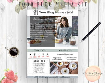 Fashion media kit template 3 page blog media press kit food media kit template 1 page blog media press kit template blogger media kit pronofoot35fo Image collections
