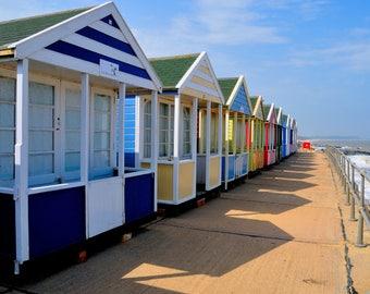 Beach huts Southwold Suffolk Print