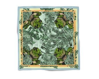 Frog Design Silk Scarf