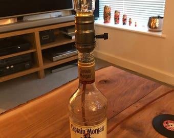 Captain Morgan Bottle lamp