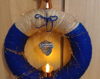 Harry Potter Christmas Wreath Ravenclaw