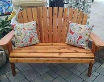 Western Red Cedar Garden Bench