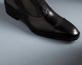 Beautiful elegant mens shoes made in Italy