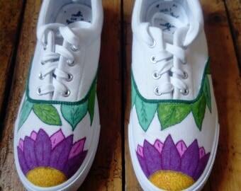 Floral Canvas Shoes