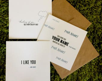 sweet thoughts blank card bundle