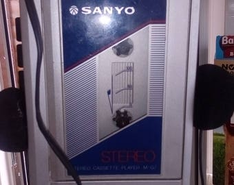 Sanyo cassette player M G7