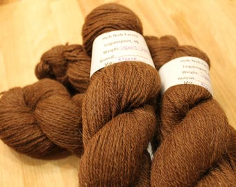Alpaca Yarn - Brown