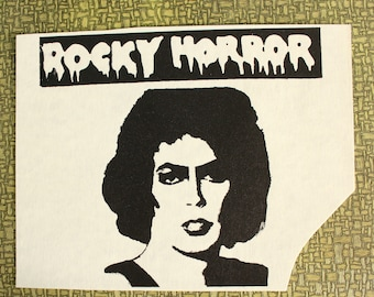 Rocky Horror Picture Show heat press transfer iron on for t-shirts, sweatshirts