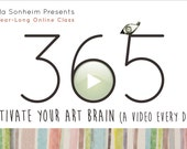 365: Activate Your Art Brain. A Year-Long Class