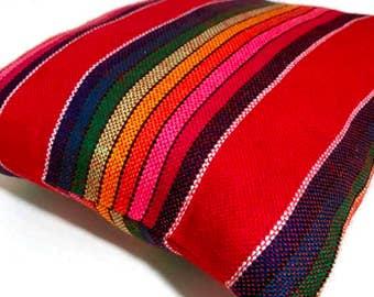 Mexican Wedding Ring Pillow Serape Ringbearer Wedding Bands Diamond Engagement Ring Rainbow Cushion LGBT