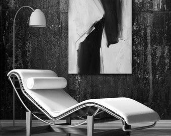 Black and White Abstract Art, abstract expressionism, custom art, modern art, contemporary, wall art, canvas art, original art