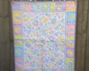 All Things Baby, A Baby Quilt FREE SHIPPING