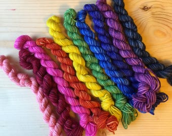 You are loved - 10 mini skeins