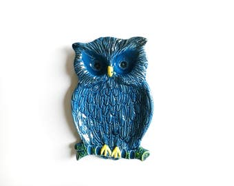 Vintage Owl Ashtray or Tray