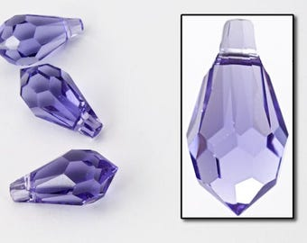 Swarovski 6000 11mm x 5.5mm Tanzanite Teardrop