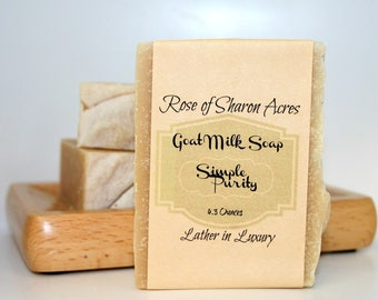 Goat Milk Soap - Simple Purity from Rose of Sharon Acres