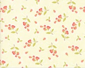 Coney Island - Posies in Ice Cream: sku 20282-16 cotton quilting fabric by Fig Tree and Co. for Moda Fabrics - 1 yard