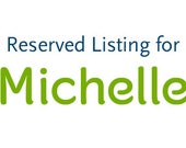 Reserved listing for Michelle