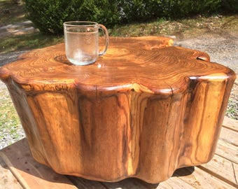 Large Live Edge Wood Table | Outdoor Kitchen Table | | live edge coffee table | rustic decor | Campfire table | Outdoor furniture