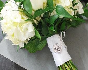Custom Bouquet Charm, Wedding Bouquet Charm,  Wedding Memorial Charm, Wedding Keepsake